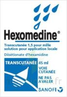 HEXOMEDINE TRANSCUTANEE 1,5 POUR MILLE, solution pour application locale à DIJON