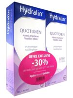 Hydralin Quotidien Gel lavant usage intime 2*200ml à DIJON